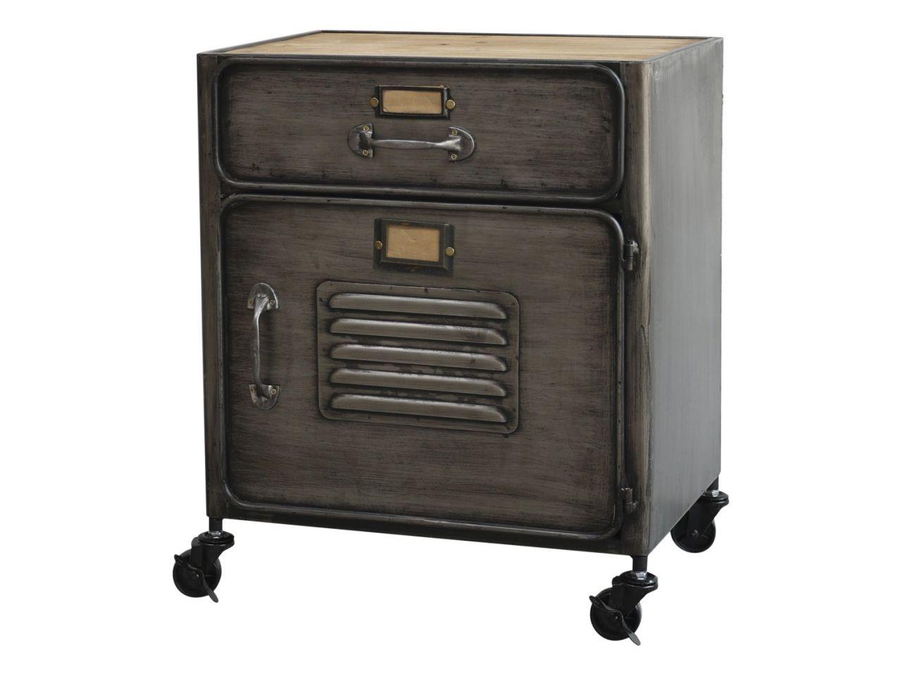 -Factory Schrank mit Schublade von Chic Antique-