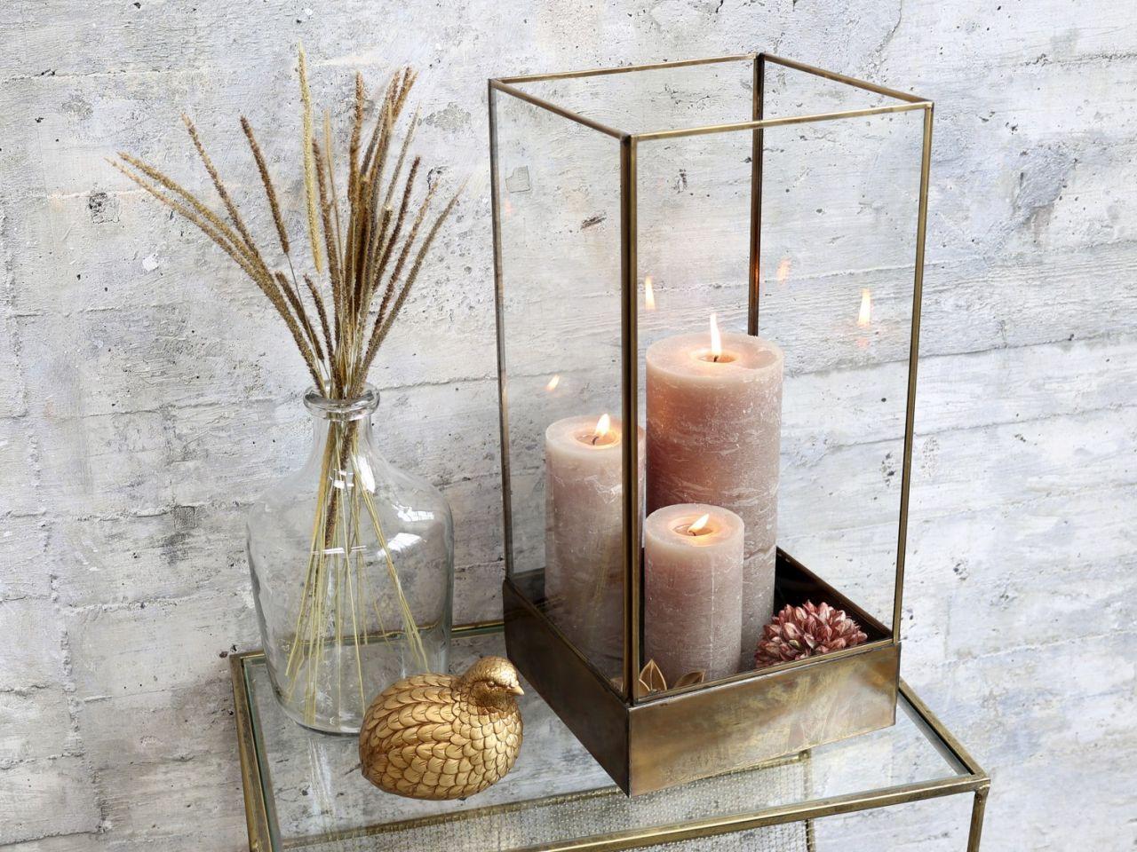 -Glasschaukasten von Chic Antique-