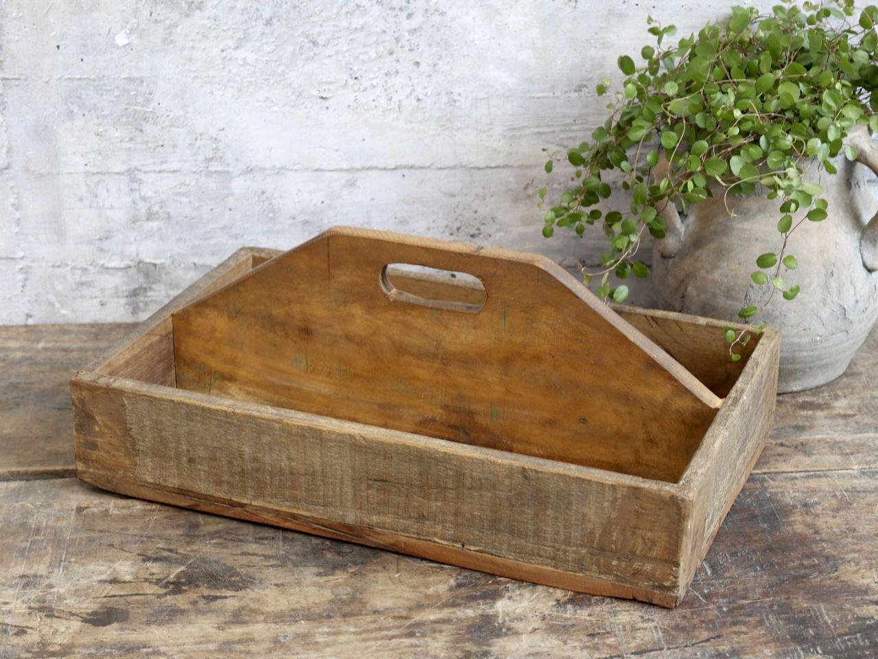 -Grimaud Holzkasten mit Henkel von Chic Antique-