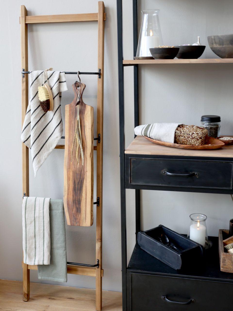 -Leiter aus Holz von Chic Antique-