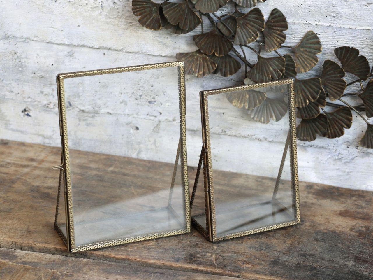 -Rahmen 2er Set mit Perlkante von Chic Antique-