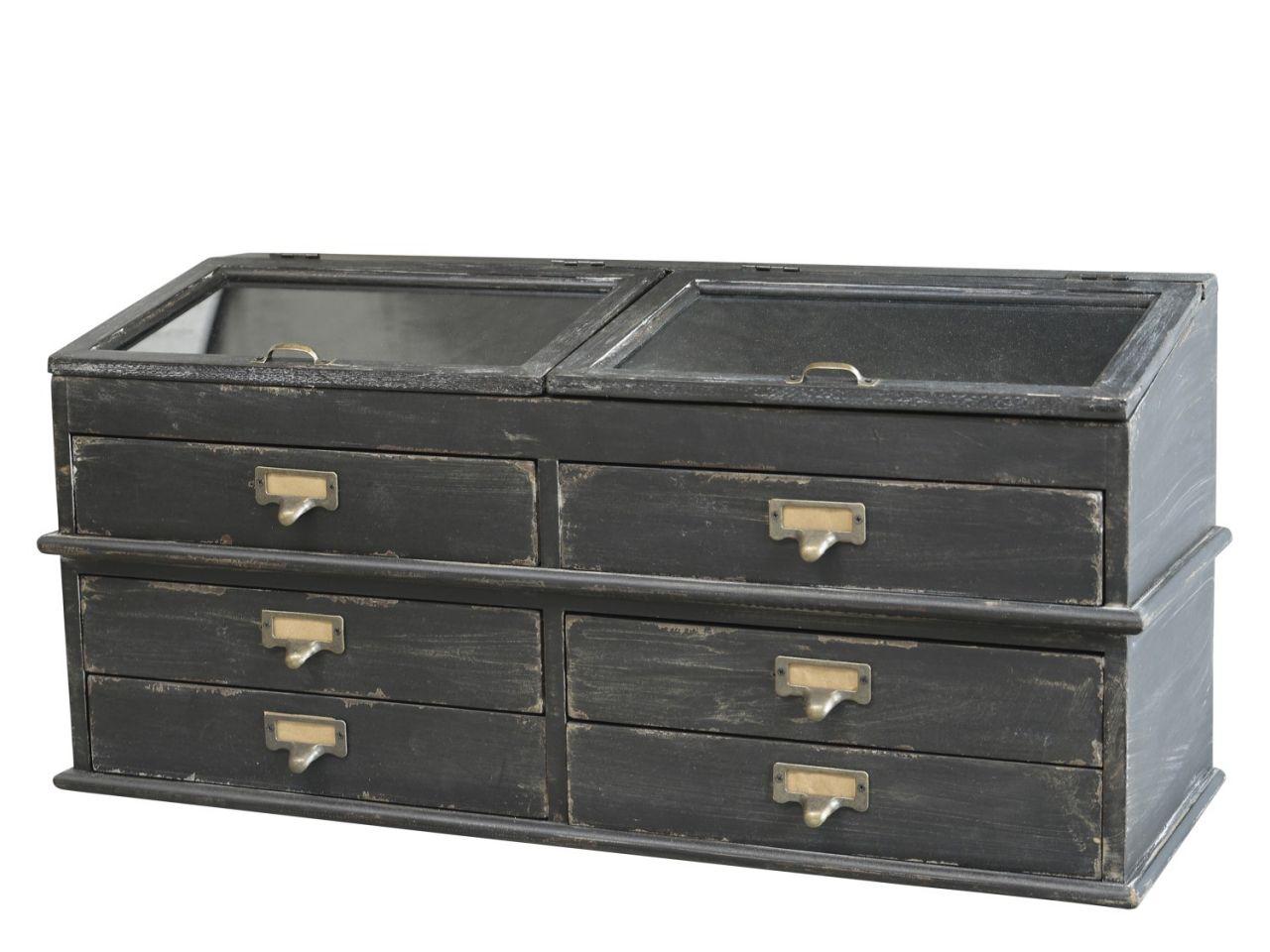 -Sortierregal mit Schubladen von Chic Antique-