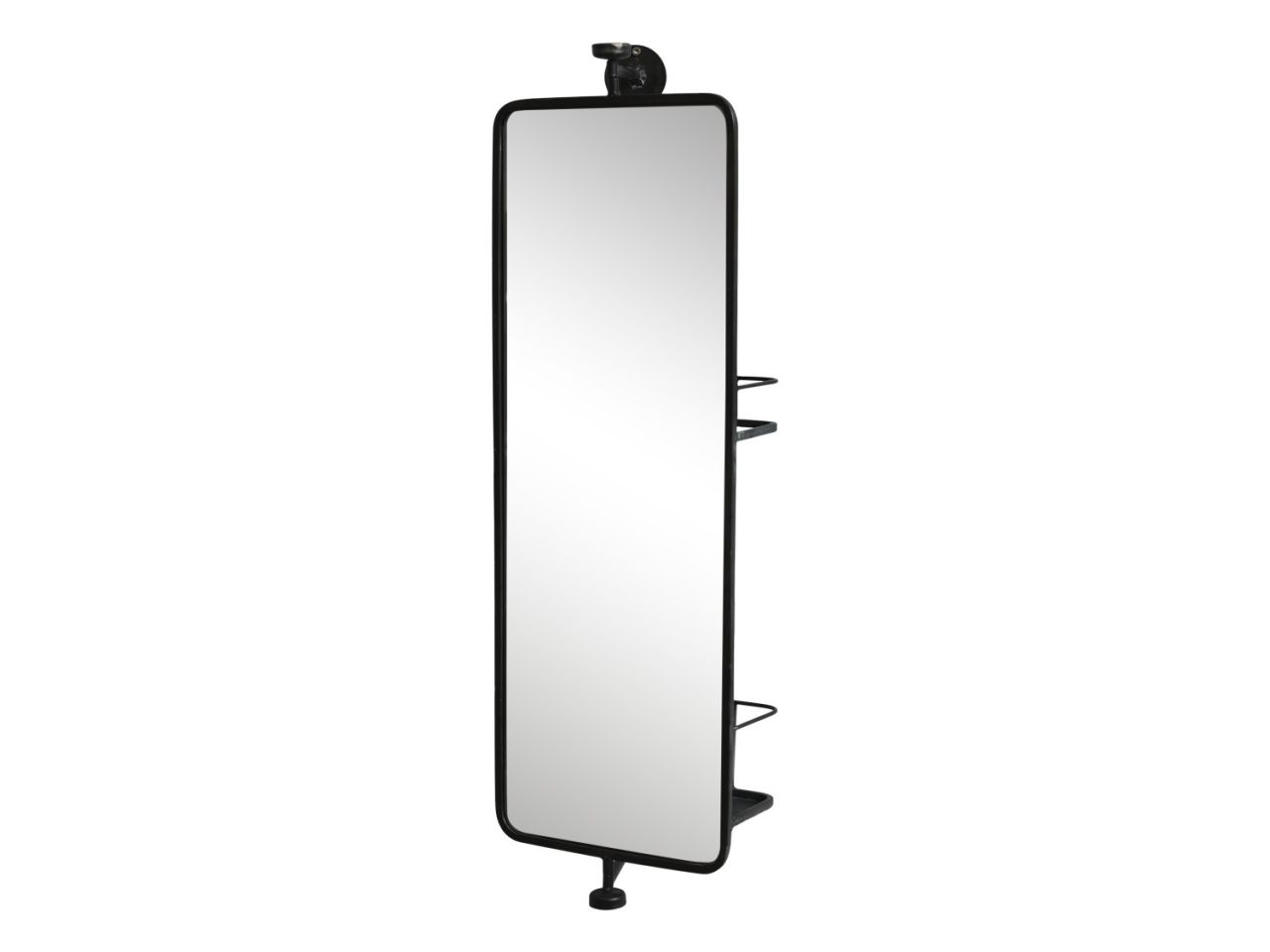 -Spiegel mit zwei Ablagen auf der Rückseite von Chic Antique-