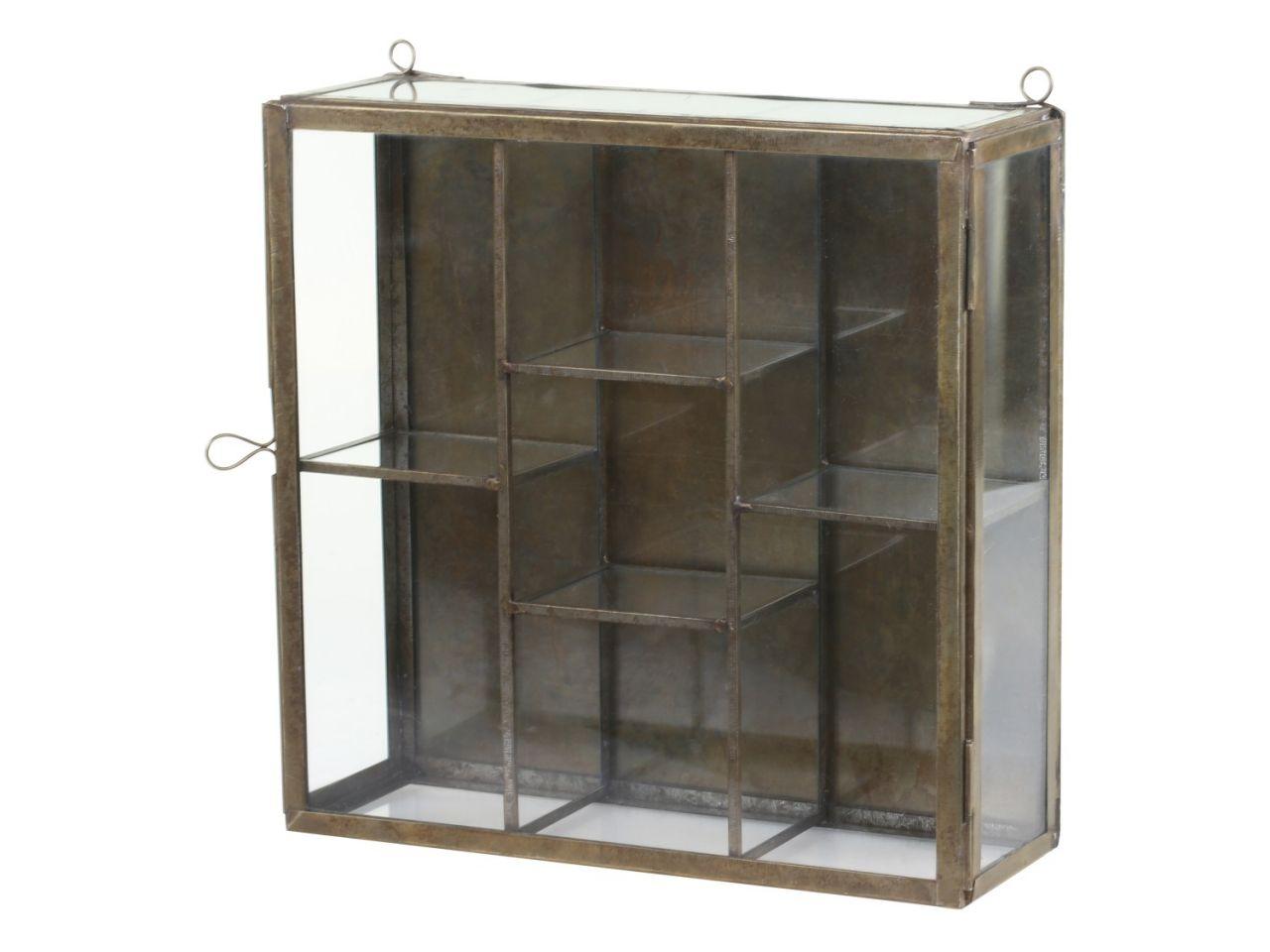 -Wandschrank M in Glas von Chic Antique-