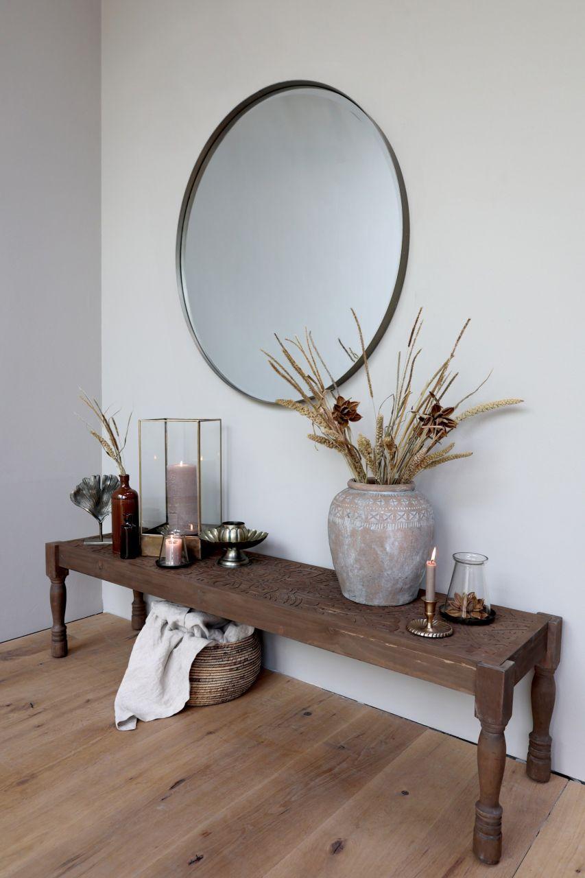 -Wandspiegel rund von Chic Antique-