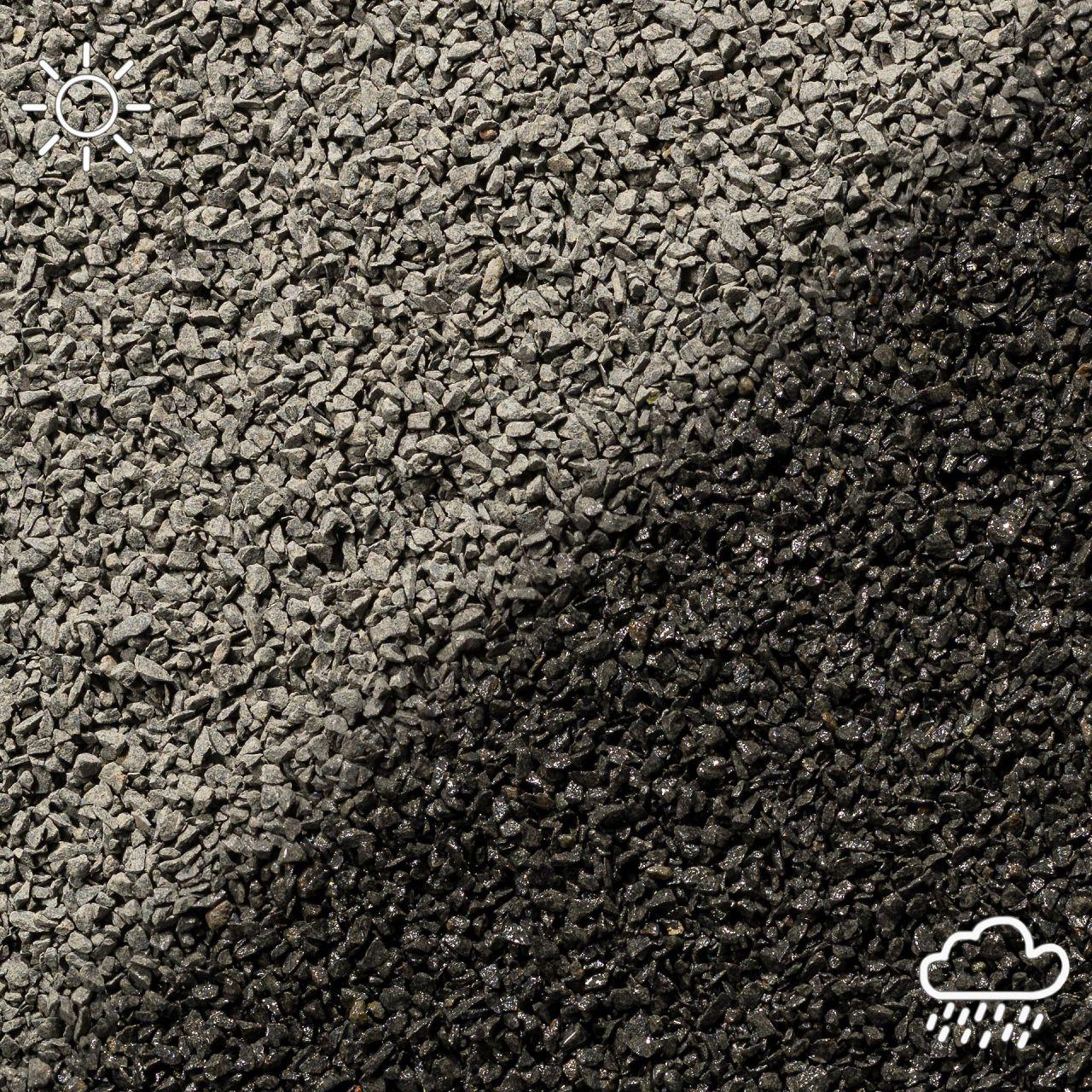 Basaltsplitt schwarz- 8-16mm- 20Kg