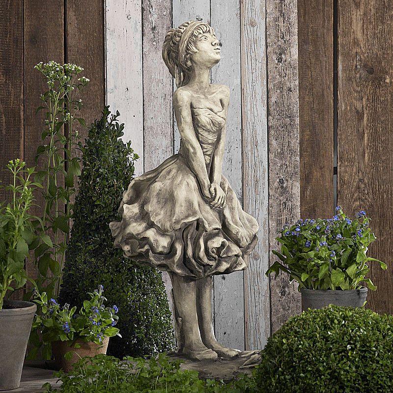 Blütendame Pfingstrose- Betongussvon Zauberblume