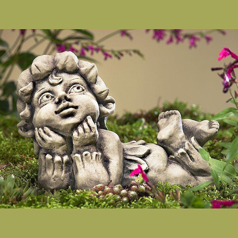 Blütentroll Maiglöckchen- Betonguss-von Zauberblume