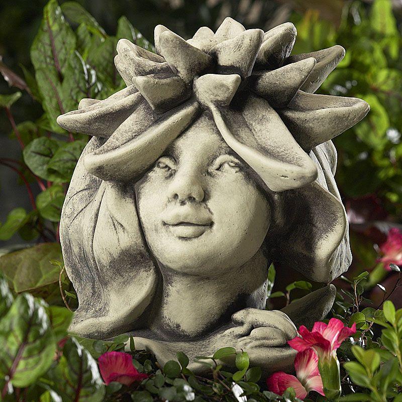 Blumenkind Seerose- Betongussvon Zauberblume