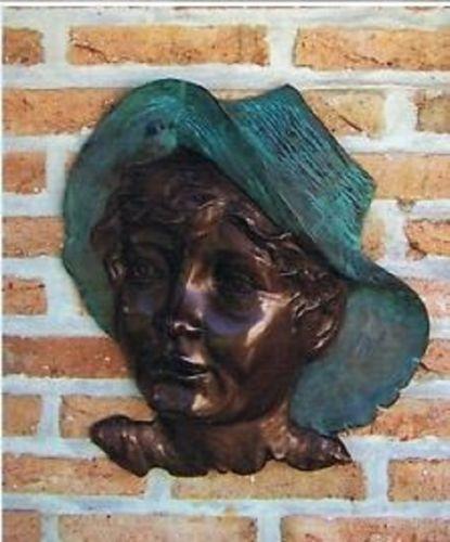 Bronzefigur Relif aus Bronze HW 0850 BR-B