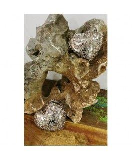 Dekoherz Fiore- silber-gold- Resin- 12-5 cmvon Zauberblume