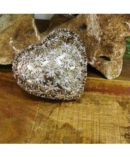 Dekoherz Flores- silber-gold- Resin- 12-5 cmvon Zauberblume