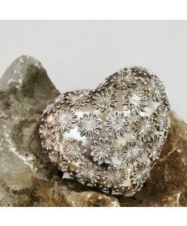 Dekoherz Zuhur- silber-gold- Resin- 12-5 cmvon Zauberblume