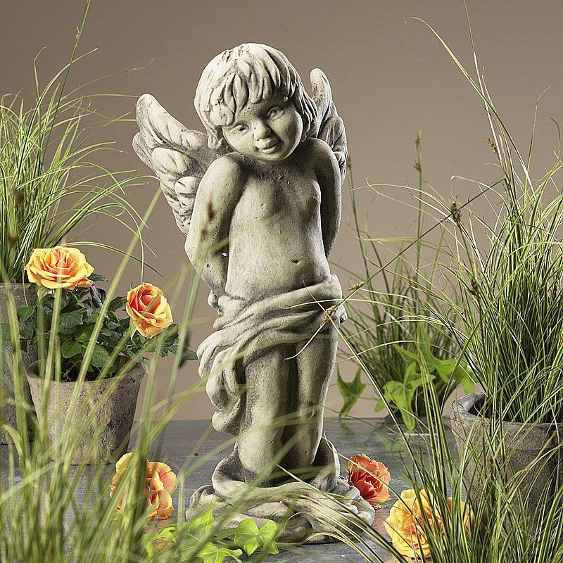 Engel Bardiel- Betonguss mitvon Zauberblume