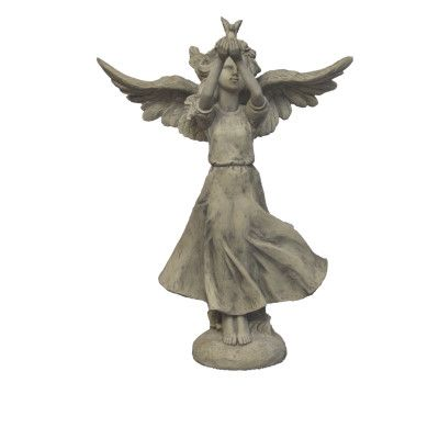Engelmädchen Paloma- gross- Resin von Zauberblume