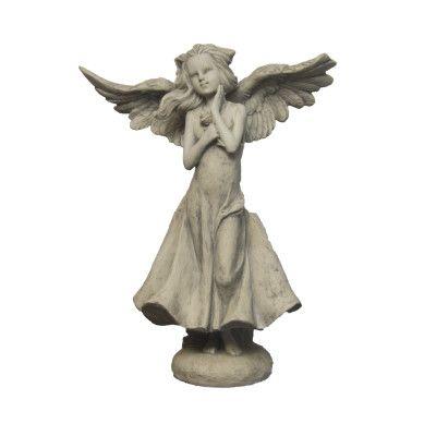 Engelmädchen Rosa- gross- Resinvon Zauberblume