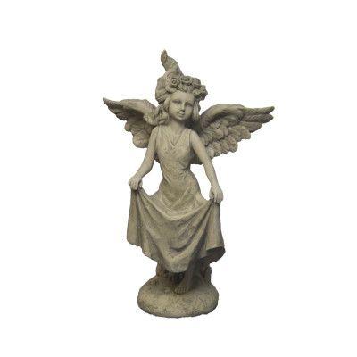 Engelmädchen Sternenfänger- klein- Resinvon Zauberblume