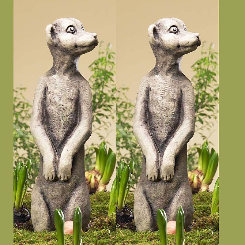 Erdmännchen Alex- Betonguss-von Zauberblume