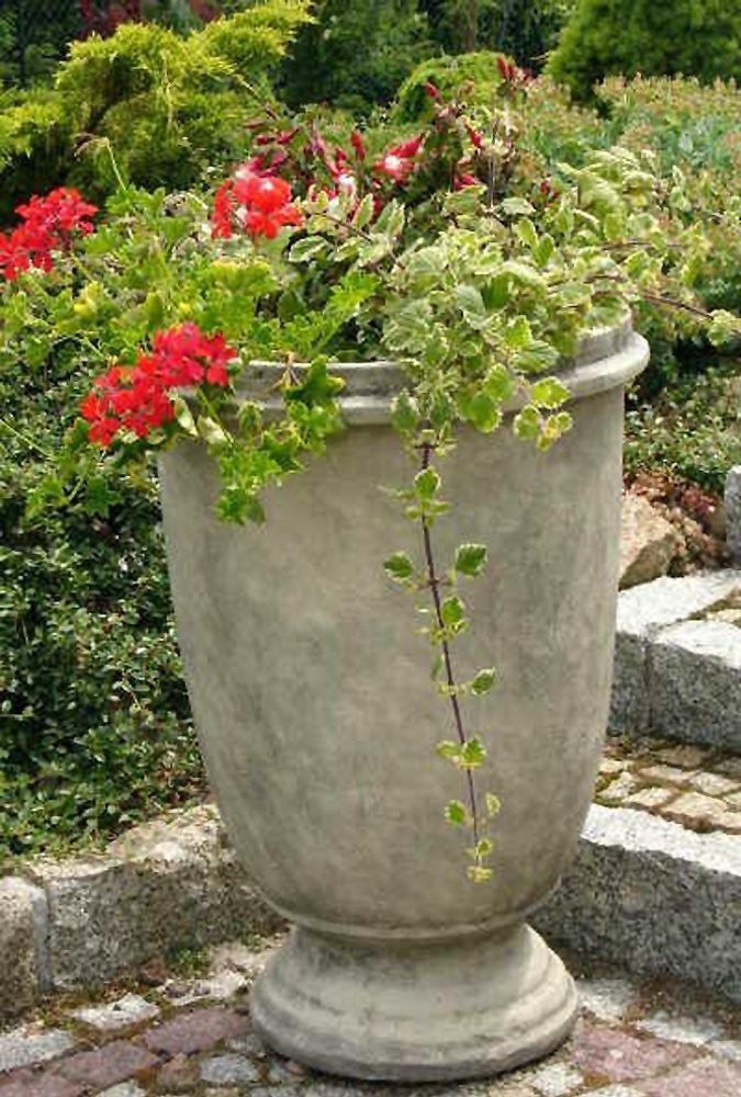 Garten- und Pflanzgefäss TUMBA- Steinguss