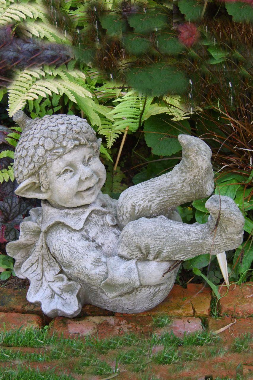 Gartenfigur ACORN- kleiner Baumelf- (c) Fiona Scott