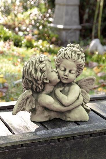 Gartenfigur Büste DER ERSTE KUSS William Bouguereau