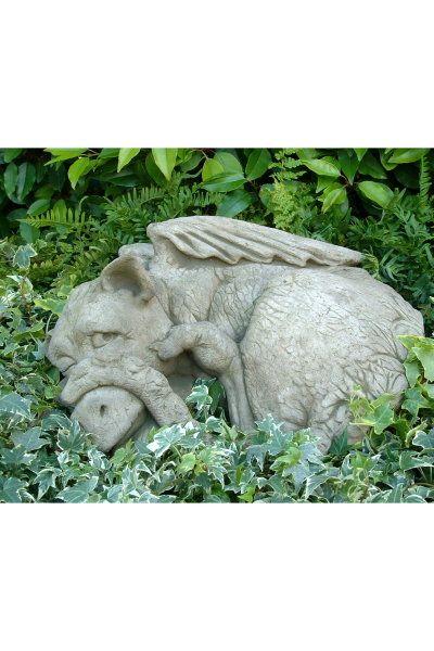 Gartenfigur Drache PEEP II- Steinguss- (c) by Fiona Scott
