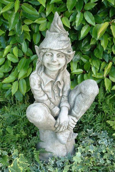 Gartenfigur Elfe SUSAN- Steinguss- (c) by Fiona Scott