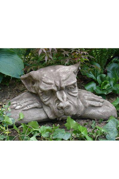 Gartenfigur FENSTERHOCKER GARGOYLE faul (c) by Fiona Scott