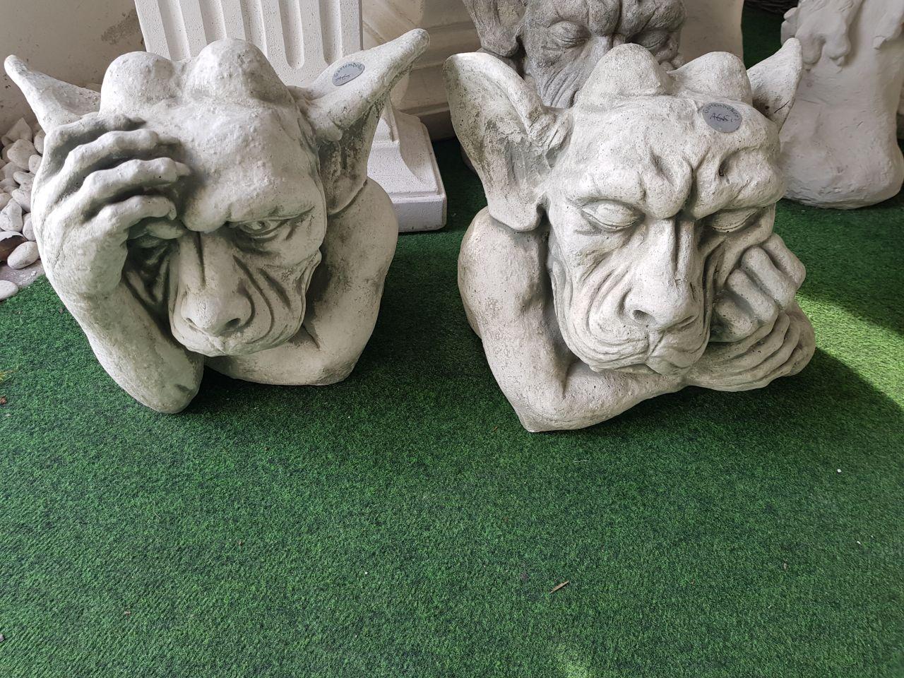 Gartenfigur Gargoyle Set