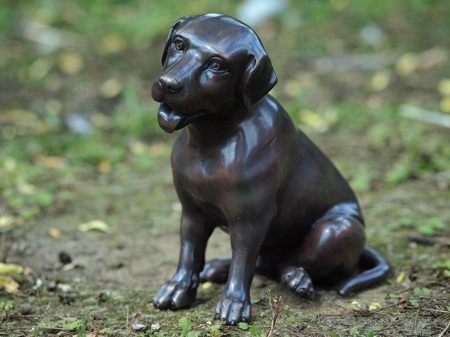 Gartenfigur Labrador