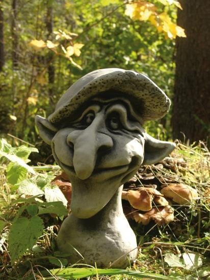 Gartenfigur Magic Mushrooms- LEONARDO- Steinguss