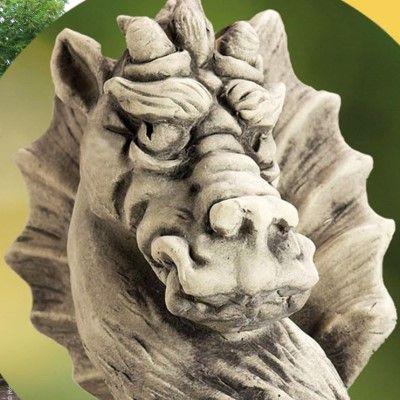 Gartenwächter Draco- Betongussvon Zauberblume