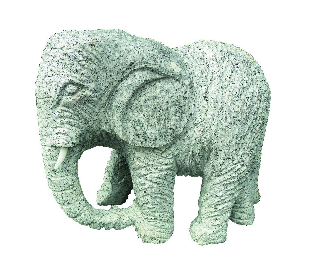Granit Elefant verschiedene Modelle