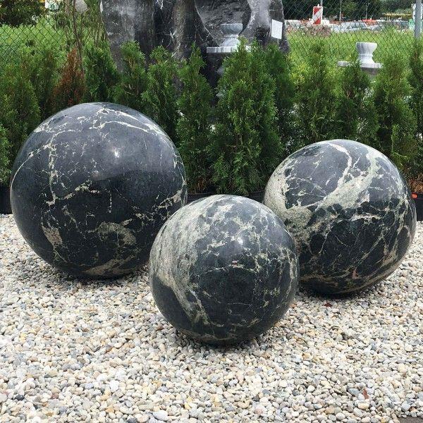 Granit-Kugel Yimeng Flower von Naturstein Geukes