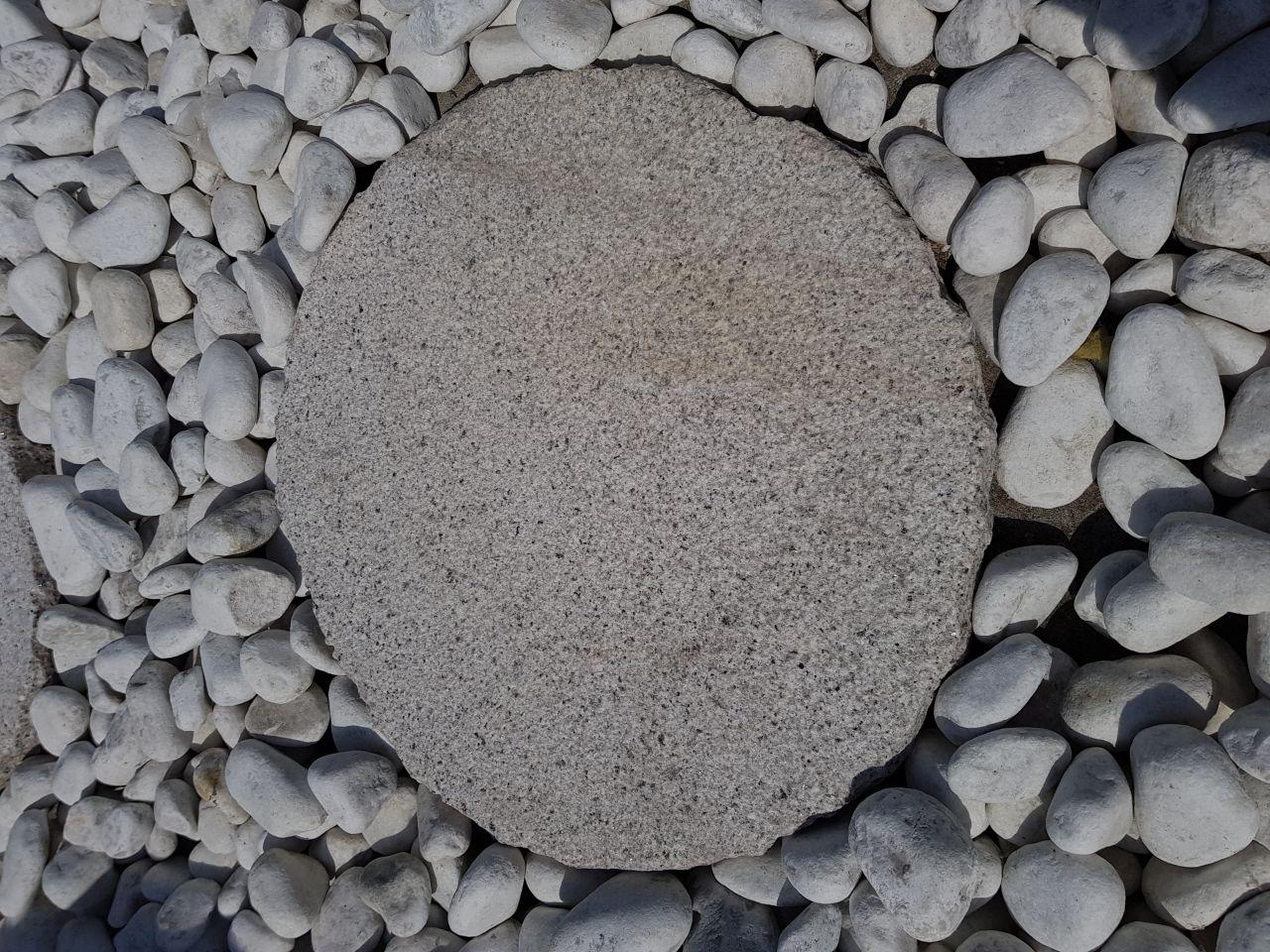 Granit Trittplatte grau