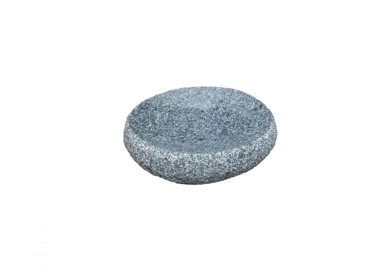 Granitvogeltränke rund- grau von Naturstein Geukes