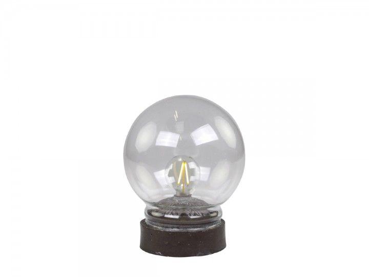Lampe mit Glühbirnen von Chic Antique