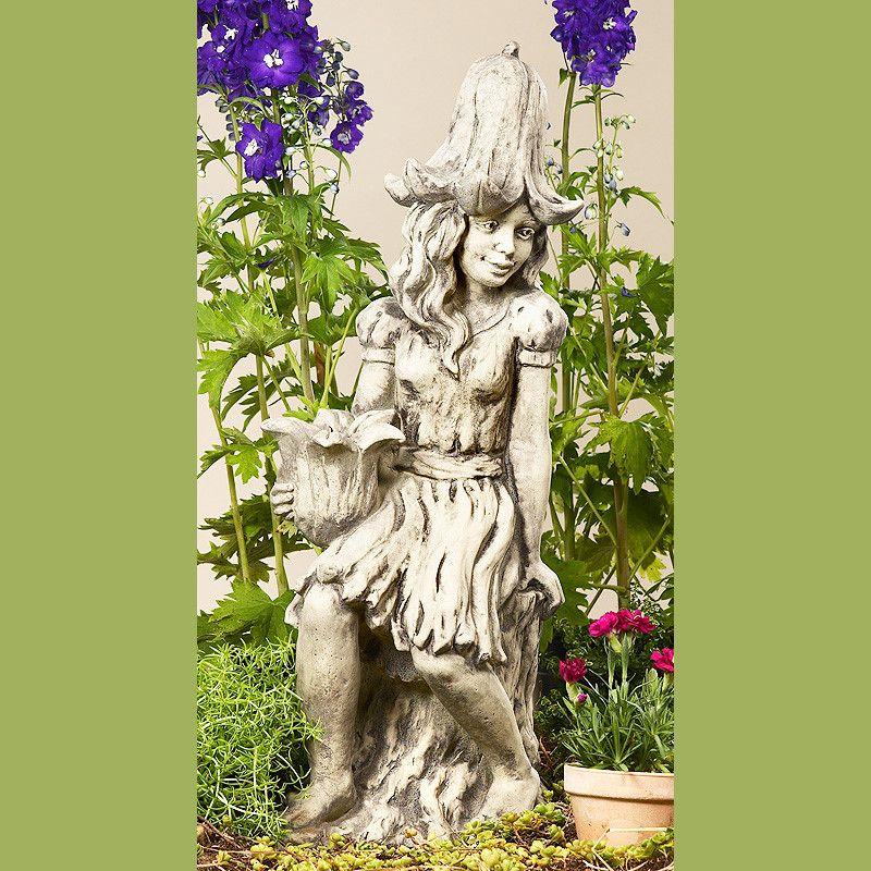 Lichterkind Glockenblume- Betonguss-von Zauberblume