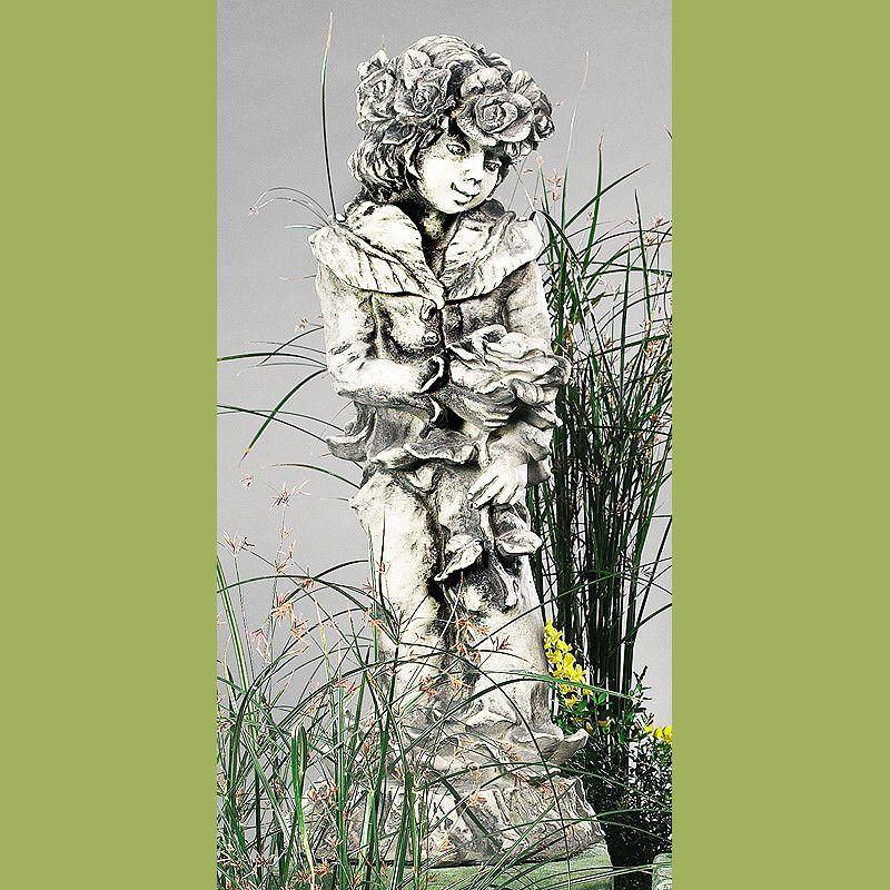 Lichterkind Rosenjunge- Betonguss-von Zauberblume