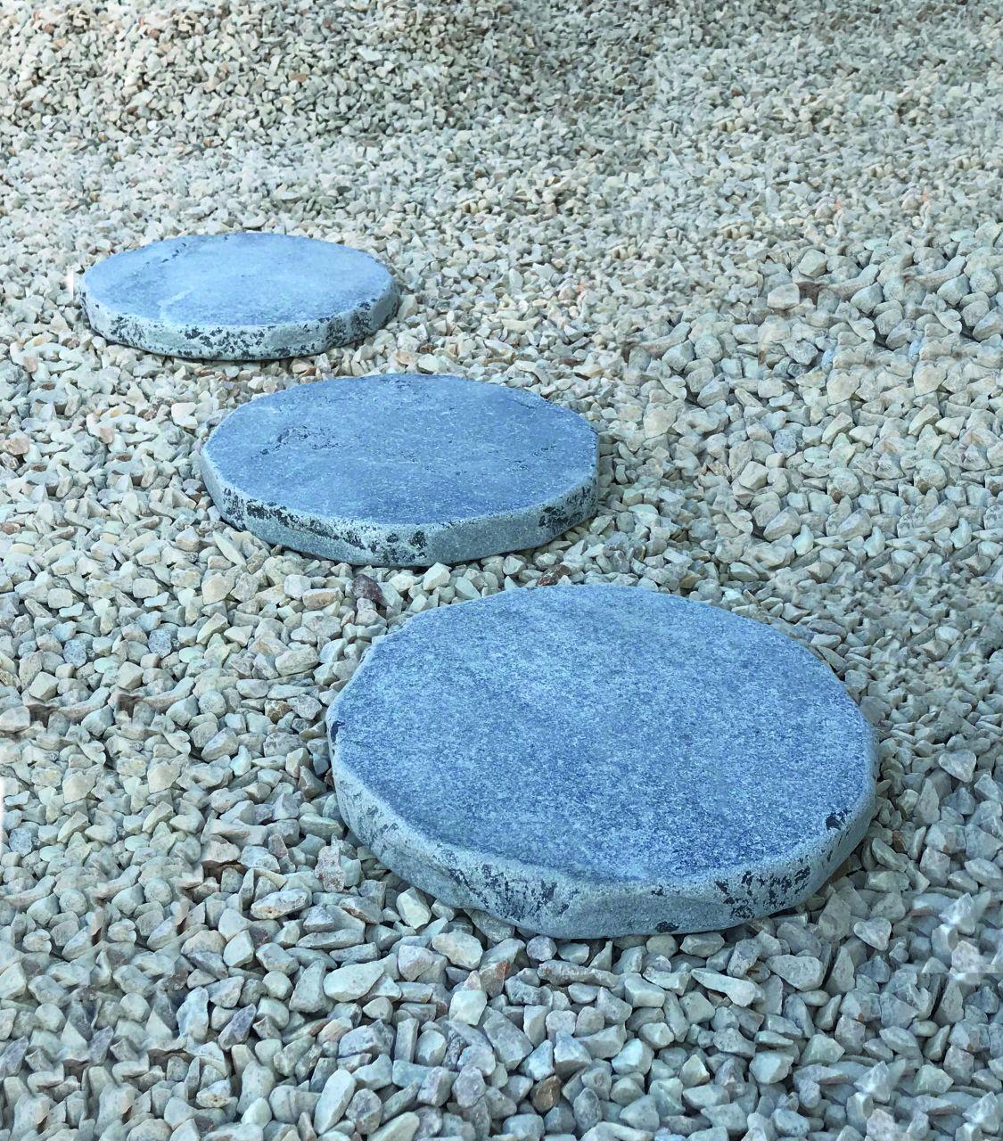 Limestone Trittplatte getrommelt