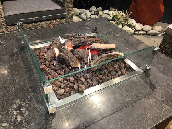 Schutzglas für Feuertisch-Ätna-Pompeji-Fuego von Naturstein Geukes