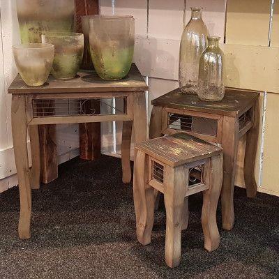 Tischset (3 Stück) Hoka- Holzvon Zauberblume