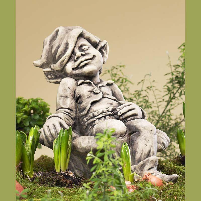 Troll Fridolin- Betonguss-von Zauberblume