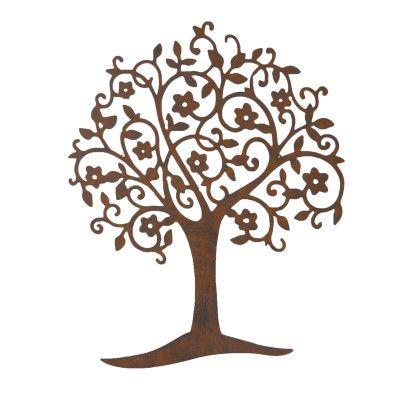 Wandbild Baum Arbol- Eisenvon Zauberblume