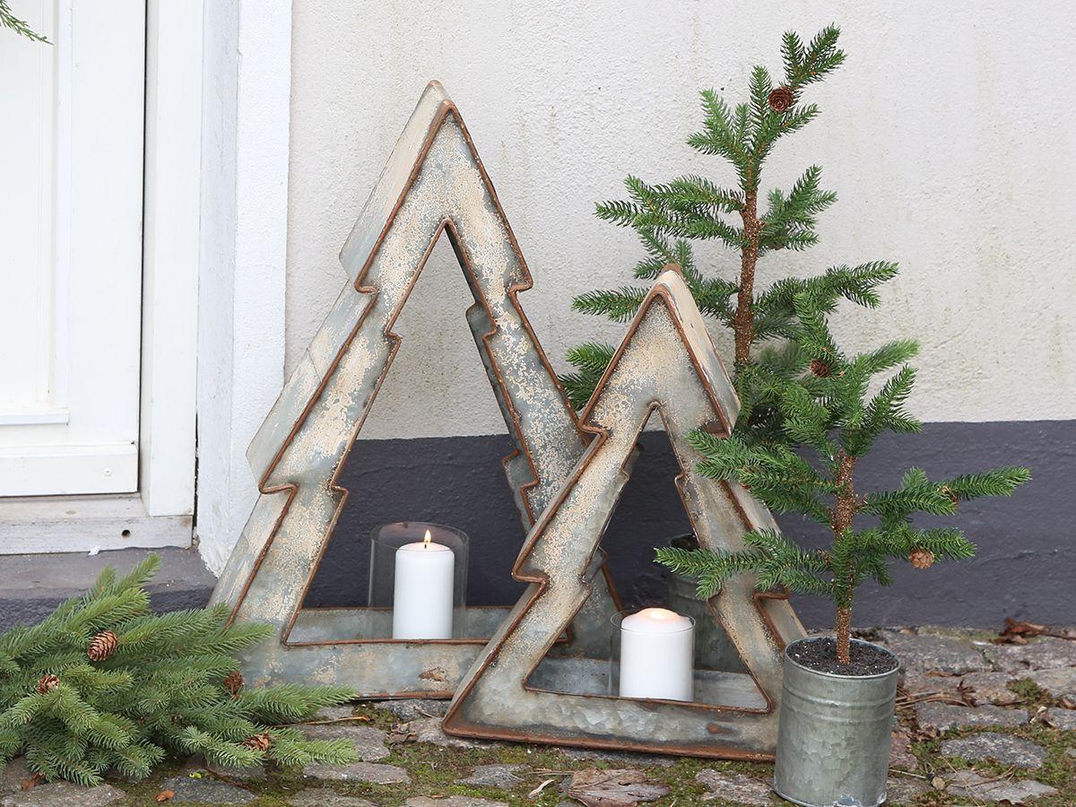 Weihnachtsbaum mit Kerzenhalter von Chic Antique